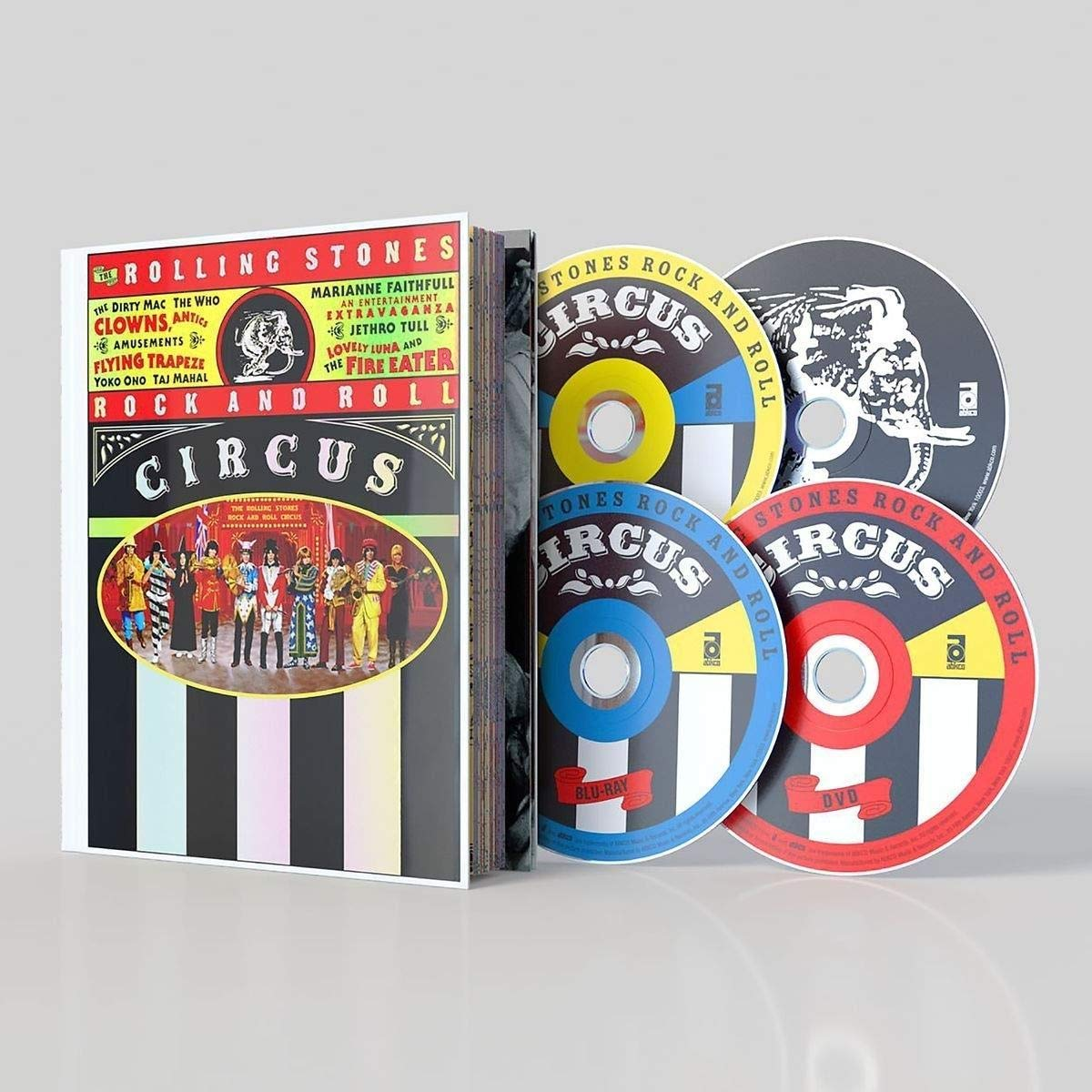 ROCK AND ROLL CIRCUS (3PC) (W / CD) / (LTD WBR-ROLLING STONES