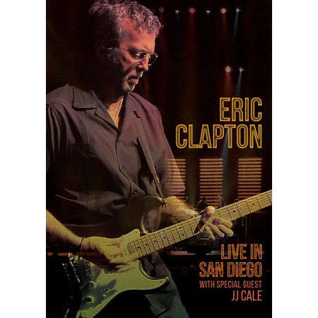 LIVE IN SAN DIEGO (WITH SPECIAL GUEST JJ CALE)-ERIC CLAPTON