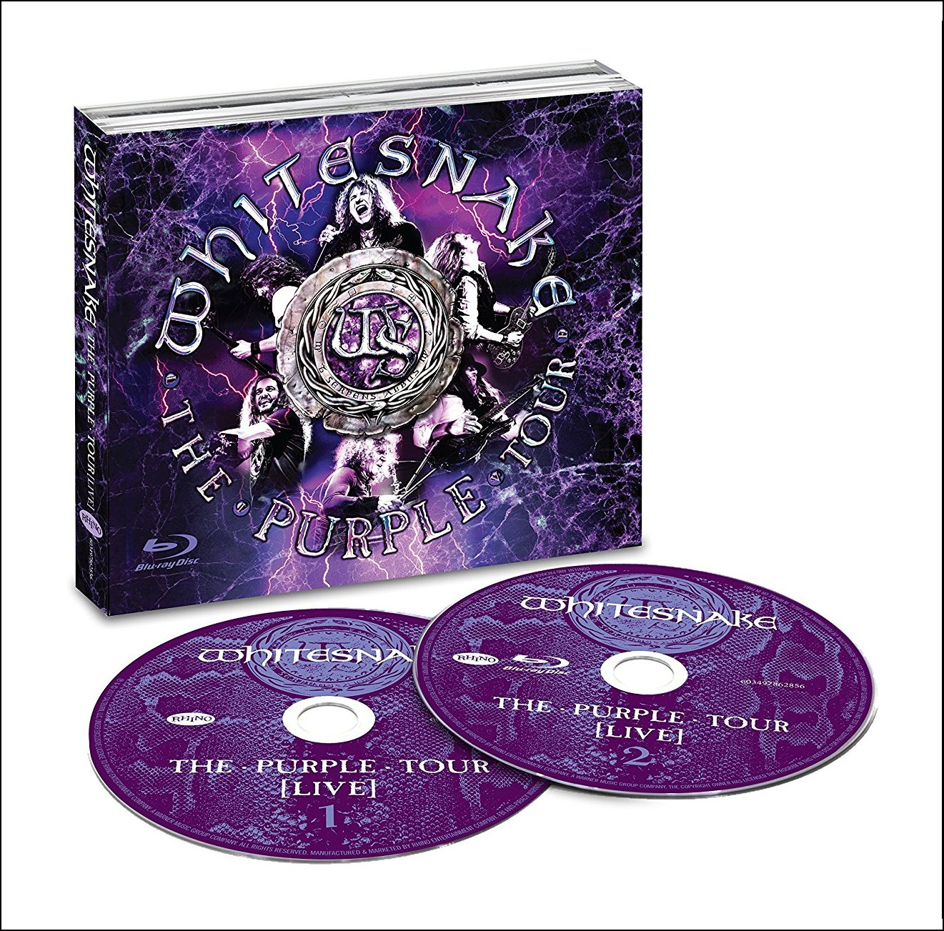PURPLE TOUR (LIVE) (WBR)-WHITESNAKE
