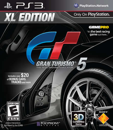 GRAN TURISMO 5 XL EDITION / PS3-GRAN TURISMO 5 XL EDITION / PS3