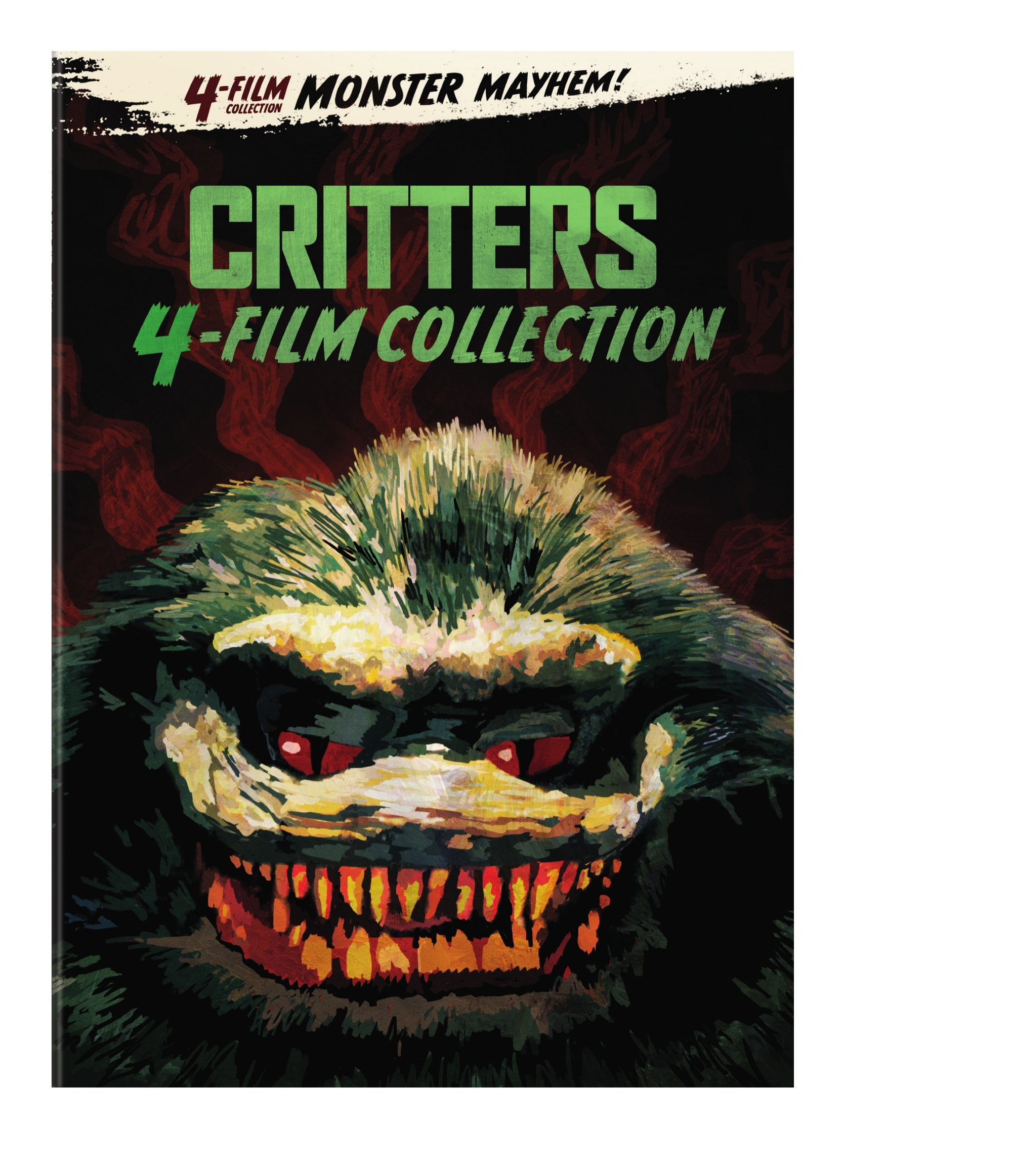 4 FILM FAVORITES: CRITTERS 1-4 (4PC) / (BOX)-4 FILM FAVORITES: CRITTERS 1-4 (4PC) / (BOX)