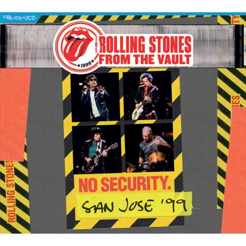 FROM THE VAULT: NO SECURITY SAN JOSE 99 (3PC)-ROLLING STONES
