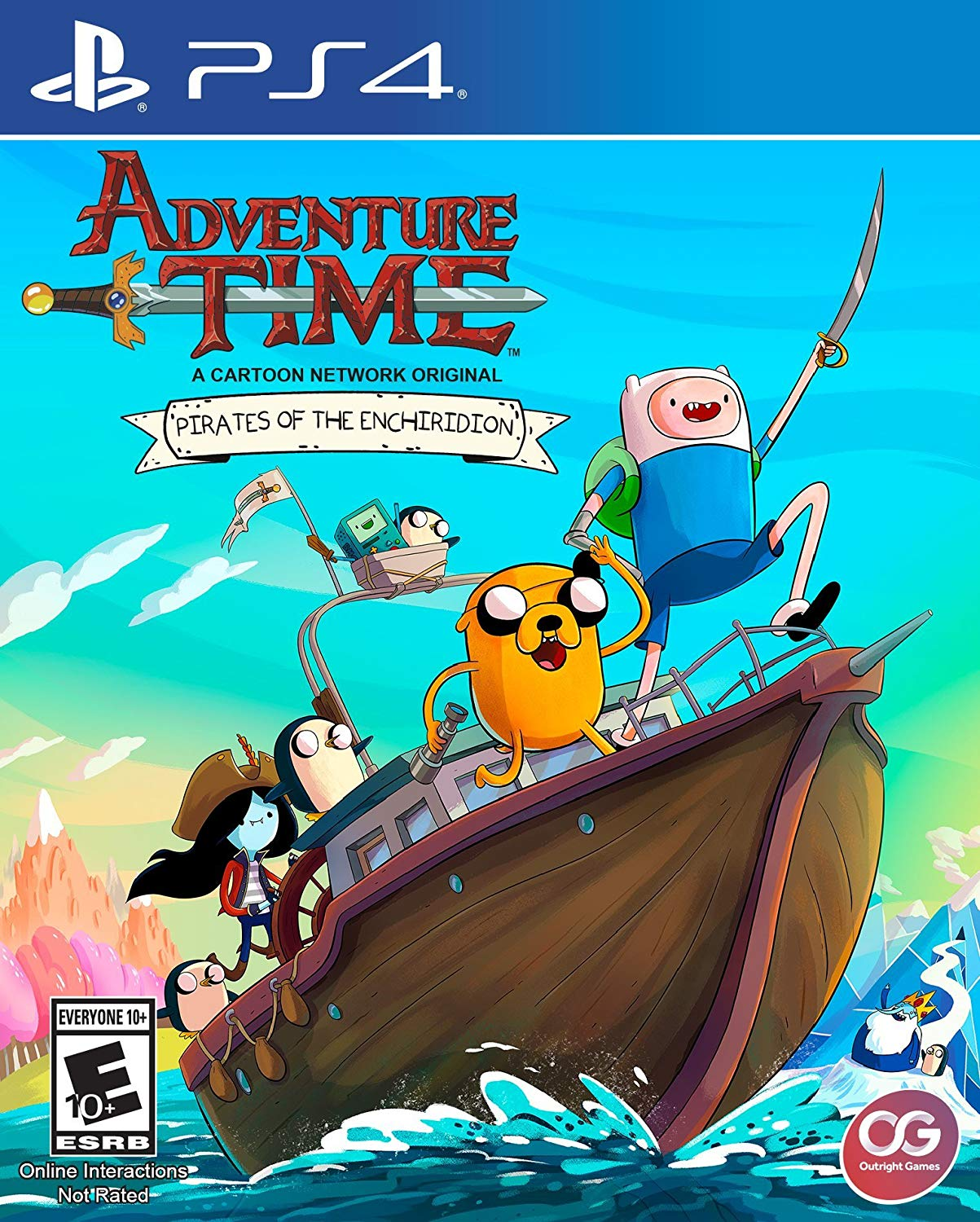 ADVENTURE TIME: PIRATES OF THE ENCHIRIDION/ PS4-ADVENTURE TIME: PIRATES OF THE ENCHIRIDION/ PS4