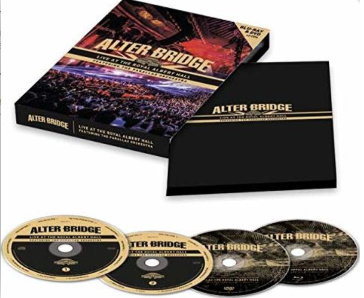 LIVE AT THE ROYAL ALBERT HALL (5PC) (W / CD) (W / -ALTER BRIDGE