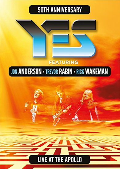 LIVE AT THE APOLLO-YES / JON ANDERSON / TREVOR RABIN / RICK WAKEMAN