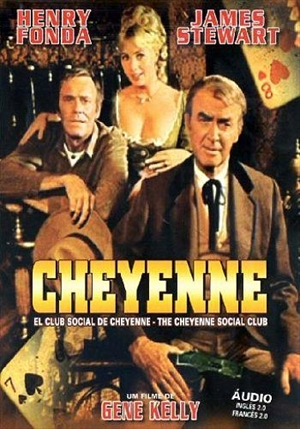CHEYENNE SOCIAL CLUB (GENE KELLY)  (1970)-HENRY FONDA/JAMES STEWART/SHIRLEY JONES