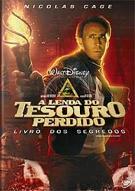 NATIONAL TREASURE 2: BOOK OF SECRETS-LENDA DO TESOURO PERDIDO: LIVRO DOS SEGREDOS