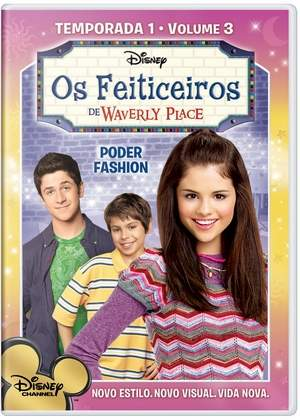 FEITICEIROS DE WAVERLY PLACE - 1 TEMP VOL 3-SELENA GOMEZ / DAVID HENRIE / JAKE T. AUSTIN